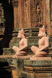Angkor Temple Banteay Srey Stock Photography