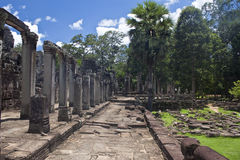 Angkor temple Bayon Royalty Free Stock Photos