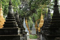 Angkor Temple Cambodia Royalty Free Stock Photography