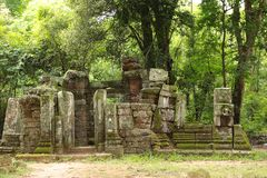 Angkor Temple Cambodia Royalty Free Stock Photo
