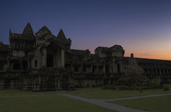 Angkor temple Cambodia Royalty Free Stock Photos