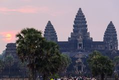 Angkor temple complex Royalty Free Stock Photography
