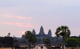 Angkor temple complex Stock Photo