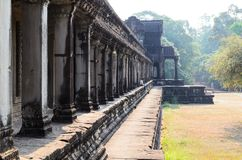 Angkor temple complex Royalty Free Stock Images