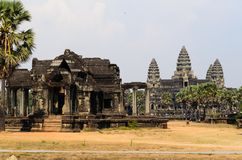 Angkor temple complex Royalty Free Stock Photos