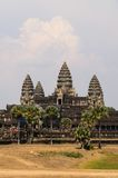 Angkor temple complex Stock Image