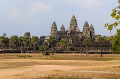 Angkor temple complex Stock Images