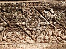 Angkor Temple detail 03 Stock Photos