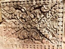 Angkor Temple detail 04 Royalty Free Stock Photos