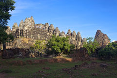 Angkor temple Phnom Bakheng Royalty Free Stock Photo