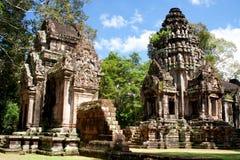 Angkor Temples Royalty Free Stock Photos