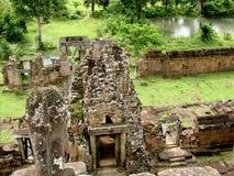 Angkor Thom świątynia Obrazy Stock