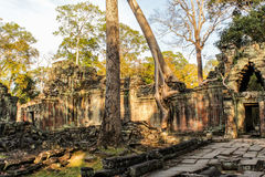 Angkor Thom - αρχαίο templt στην Καμπότζη Στοκ εικόνα με δικαίωμα ελεύθερης χρήσης
