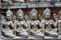 angkor, thom, Καμπότζη, ναός, wat, αρχαίος, ταξίδι, πολιτισμός, s Στοκ φωτογραφία με δικαίωμα ελεύθερης χρήσης