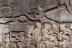 angkor, thom, Καμπότζη, ναός, wat, αρχαίος, ταξίδι, πολιτισμός, s Στοκ εικόνες με δικαίωμα ελεύθερης χρήσης