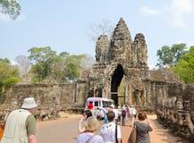 Angkor Thom, Καμπότζη Στοκ Φωτογραφία