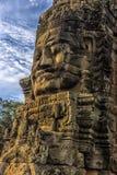 Angkor Thom - ναός Bayon Στοκ Φωτογραφία
