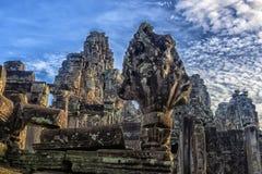 Angkor Thom - ναός Bayon Στοκ Εικόνα