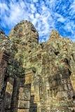 Angkor Thom - ναός Bayon Στοκ Εικόνες