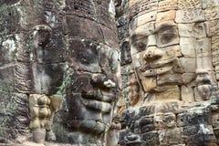Angkor Thom, περιοχή Angkor Wat, Καμπότζη Στοκ εικόνες με δικαίωμα ελεύθερης χρήσης