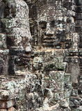 Angkor Thom, περιοχή Angkor Wat, Καμπότζη Στοκ Εικόνες
