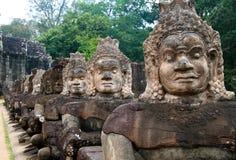 Angkor Thom Stock Afbeeldingen