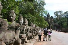 Angkor Thom Royalty Free Stock Photography