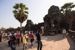 Angkor Thom Arkivbilder