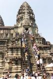 Angkor Thom Arkivfoton