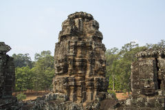 Angkor Thom Lizenzfreies Stockfoto