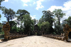 Angkor Thom fotografie stock libere da diritti