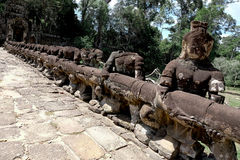 Angkor Thom Stockfotografie