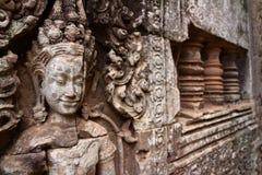 Angkor Thom, Angkor Wat zdjęcia stock