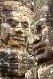 Angkor Thom Angkor Wat plats, Cambodja Fotografering för Bildbyråer