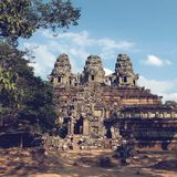 Angkor Thom au Cambodge photo libre de droits