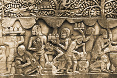 Angkor Thom, Cambodia Stock Images