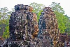 Angkor Thom. Cambodia, Siem Reap, Angkor Thom - Bayon Temple Royalty Free Stock Photography