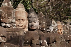 Angkor Thom in Cambodia Royalty Free Stock Photos