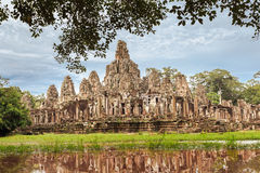 Angkor Thom complex Royalty Free Stock Image