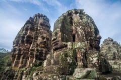 Angkor Thom de Siem Reap, Camboya Imagen de archivo libre de regalías