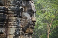 Angkor Thom Face Foto de Stock
