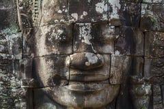 Angkor Thom Face Lizenzfreies Stockbild