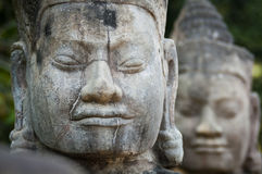 Angkor Thom Faces Royalty Free Stock Photos