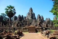 Angkor Thom in het licht van de ochtendzon Stock Fotografie