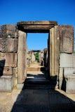 Angkor Thom in het licht van de ochtendzon Royalty-vrije Stock Foto's