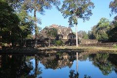 Angkor Thom kambodja Siem oogst Provincie Siem oogst stad Royalty-vrije Stock Afbeelding