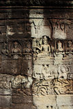 Angkor Thom. Located in present day Cambodia, was the last and most enduring capital city of the Khmer empire. It was established in the late twelfth century Stock Images