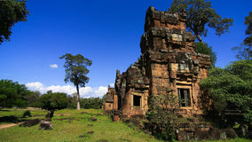 Angkor thom Mittag Lizenzfreie Stockbilder