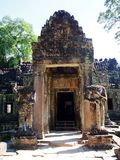 Angkor Thom, Siem oogst Kambodja Royalty-vrije Stock Fotografie