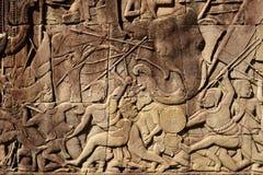 Angkor Thom - Siem Reap - Камбоджа - старое Angkor Стоковое Изображение RF